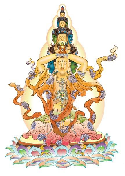 39. Đảnh Thượng Hóa Phật Thủ Nhãn
