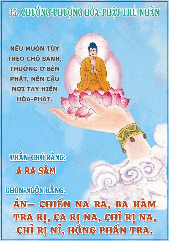 35. Chưởng Thượng Hóa Phật Thủ Nhãn
